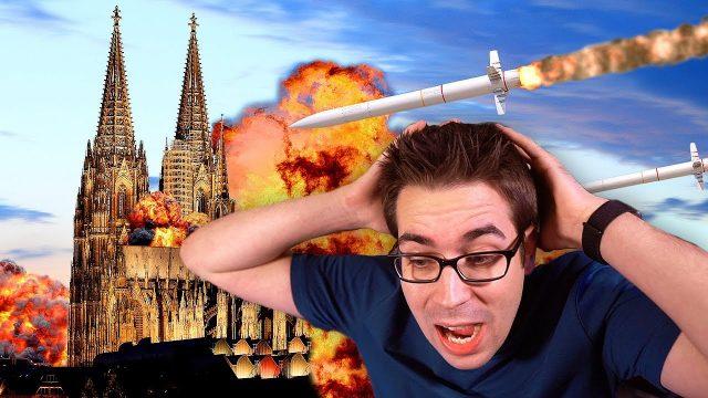 Das passiert wenn in Deutschland eine Atombombe explodiert!