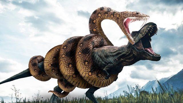 Schlangen, die Dinosaurier getötet haben!