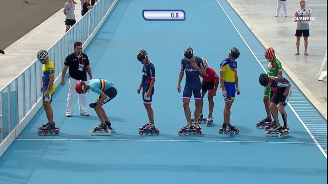Speed Skating – Final – Men 1000M