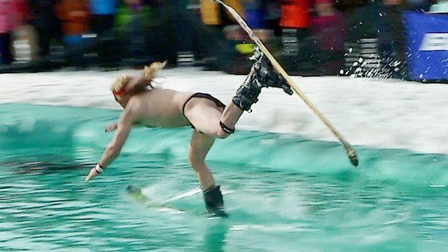 und ab ins Wasser!