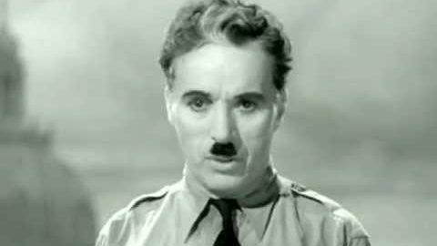 Charlie Chaplin Schlussrede (Deutsch)
