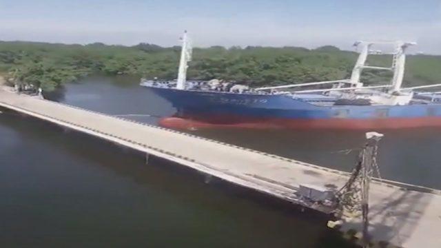 Schlimme Schiffsunfälle aufgenommen auf Video